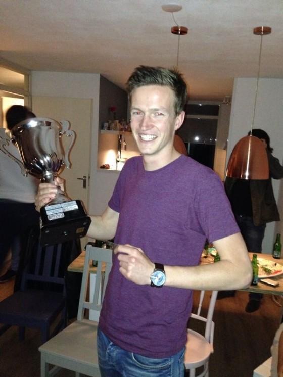 Koen Flipse speler van het jaar 2013-2014