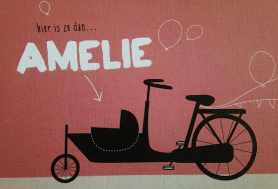 28 september: Amelie aaien!